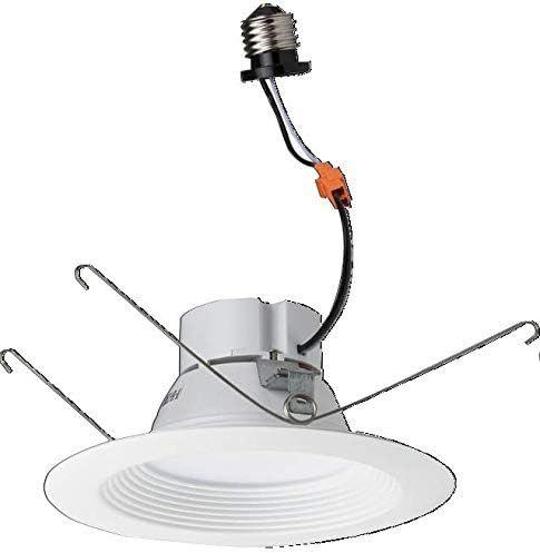 "Morris 72626 LED Recessed Lighting Retrofit Kit 8"" 25W 3000K Baffled Bezel"