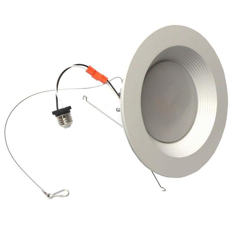 "Morris 72629 LED Recessed Lighting Retrofit Kit 8"" 35W 3000K Baffled Bezel"