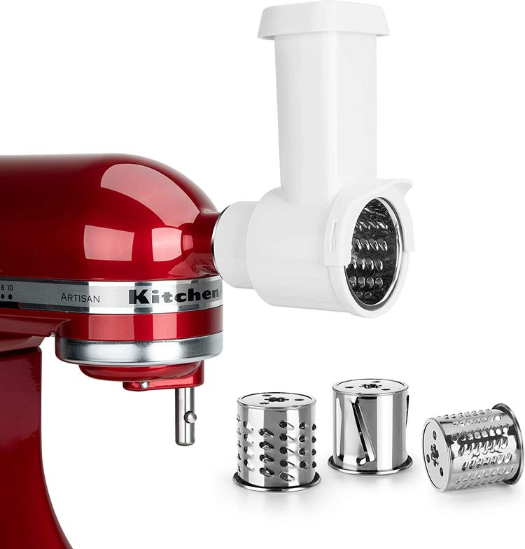 iVict Slicer Shredder Attachment for All KitchenAid Stand Mixers,Vegetable Chopper Accessory-Salad Maker