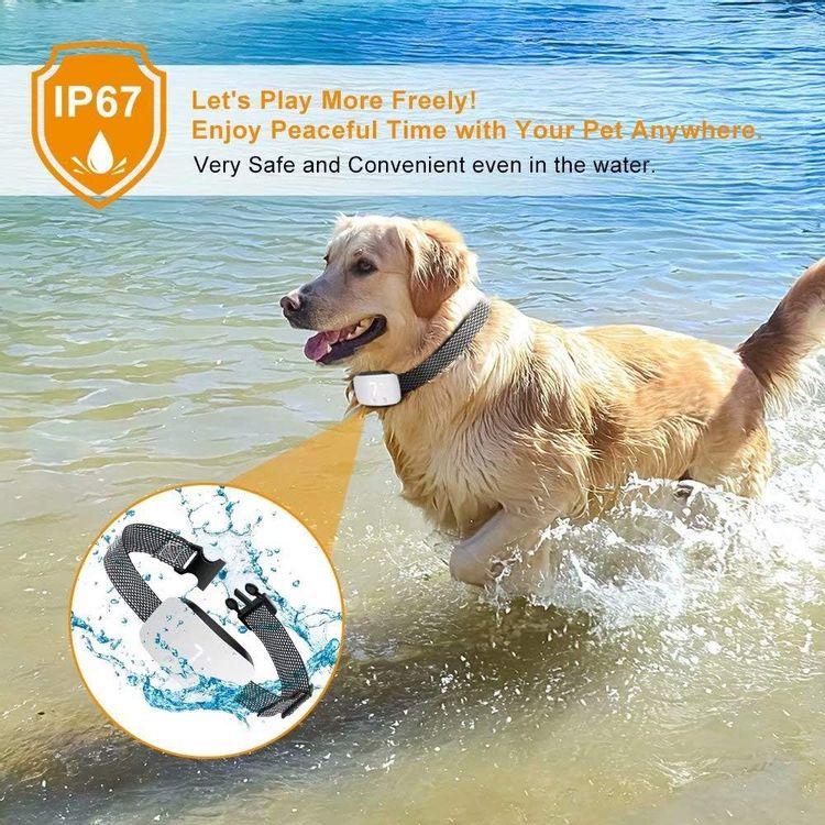 Nest 9 Dog Bark Collar, Rechargeable Anti Barking Training Collar, No Bark Collar 7 Adjustable Sensitivity and Intensity Levels for Small Medium Large Dogs