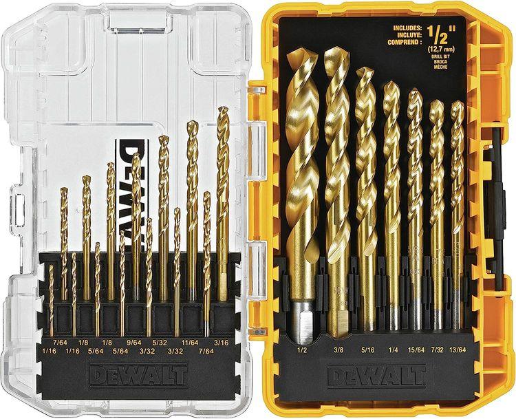 DEWALT Titanium Drill Bit Set, 21-Piece (DW1342)