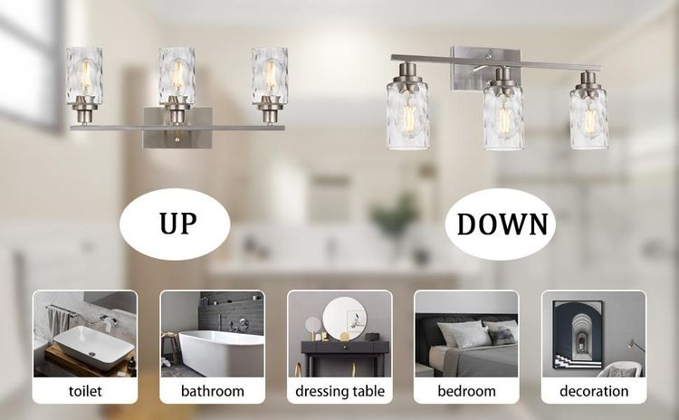 modern bathroom light