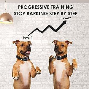 Dog bark collar bark collar for large dog bark collar for medium dogs