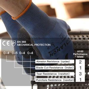 H200 safety work gloves