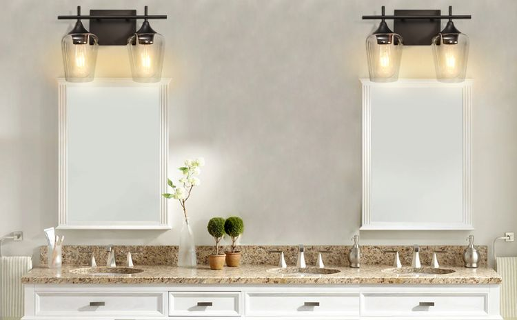 mirror with lights for wall