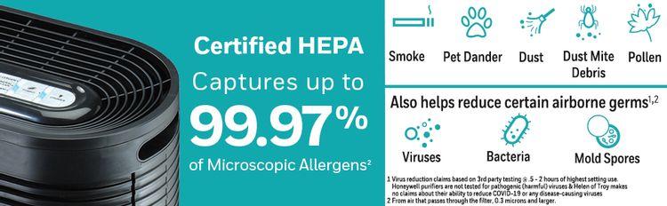 hepa particles