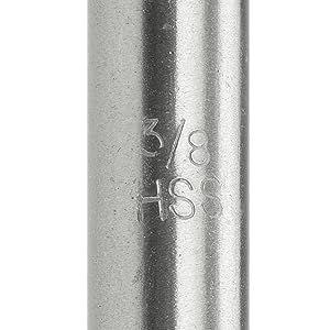 extra long jobber drill bits wood metal drilling power flute